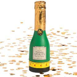 12 Mini Champagne Confetti Party Poppers