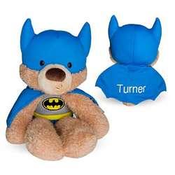 Personalized Batman Plush Bear Stuffed Animal