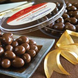 Chocolate Covered Continental Almonds - 1 lb.
