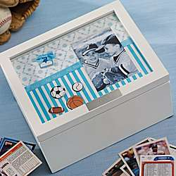 Sports Collector Box/Frame Combo