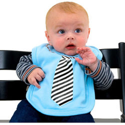 Little Businessman Bib