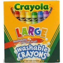 Case of Crayola Crayola Large Washable Crayons
