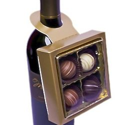 Chocolate Truffle Bottle Topper