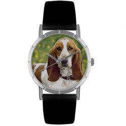 Bassett Hound Print Watch