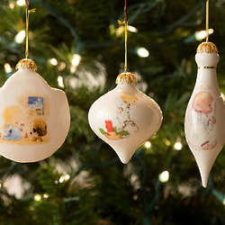 Baby's Personalized Porcelain Christmas Ornament