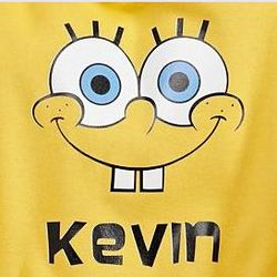 Personalized SpongeBob Youth Hoodie