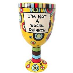 Work Related Social Drinker Goblet