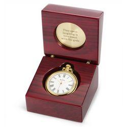 Ashton Pocket Watch and Desk Clock