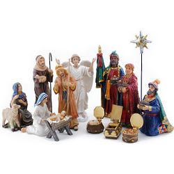 14 Piece Nativity Set