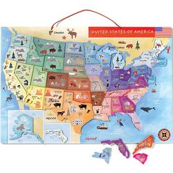 Magnetic Map of the United States