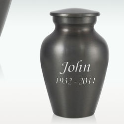 Personalized Classic Brass Cremation Urn