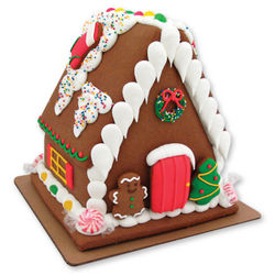 Pre-Made Christmas Gingerbread House