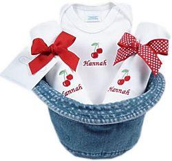 Baby Girl Gift Set in Bucket Hat