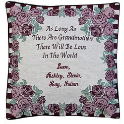 Personalized Grandmother Pillow