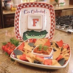 Florida Gators Gameday Chip and Dip Set