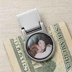 Favorite Faces Photo Money Clip