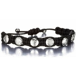 Unisex Coexist Shamballa Bracelet