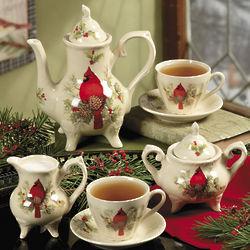 Cardinal Tea Set