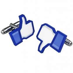 Likeable Social Network Cufflinks