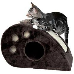 Topi Scratching Mouse Cat Scratcher and Condo