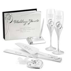 Double Rings Deluxe Reception Set
