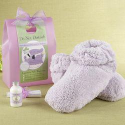 Lavender Foot Warming Spa Set