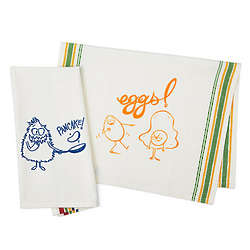 Pancake and Eggs Towel Set