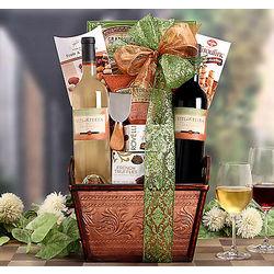 Viti Della Terra Duet Gift Basket