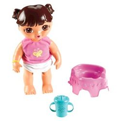 Ready For Potty Dora Doll