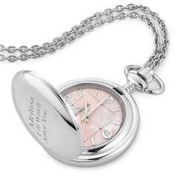 Women's Pocket Watch Pendant