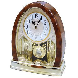 Joyful Crystal Bells Mantel Clock