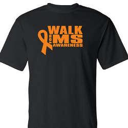 Walk for MS Awareness Sports Performance Shirt
