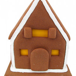 Jolly Pre-Assembled Christmas Gingerbread House