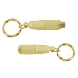 Key Chain Bullet Twist Cigar Punch