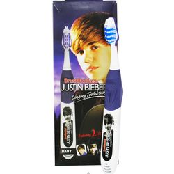 """""""Baby"""" & """"U Smile"""" Justin Bieber Singing Toothbrush"""