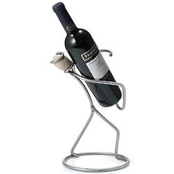 Steel and Stone Man Wine Bottle Holder