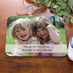 Picture Message Personalized Photo Mouse Pad