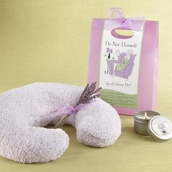 Lavender Neck Warming Spa Set
