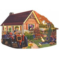 Mountain High Pumpkin Patch Jigsaw Puzzle