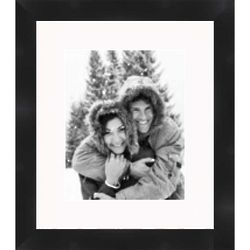 1 Inch Wide 8x10 Black Picture Frame