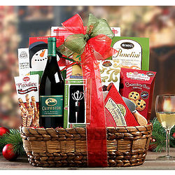 Cliffside Chardonnay Christmas Collection Gift Basket