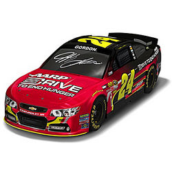NASCAR Jeff Gordon 2013 AARP Drive to End Hunger Sculpted Car
