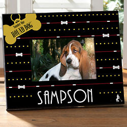 Personalized Elvis Hound Dog Pet Picture Frame