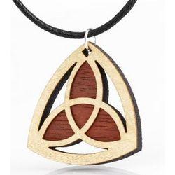 Wooden Trinity Pendant