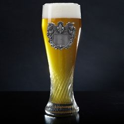 German Swirling Pilsner with Personalized Crest