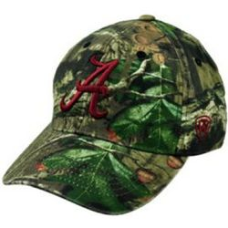 Alabama Men's Mossy Oak Camo Memory Fit Hat