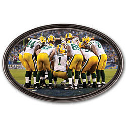 Personalized Green Bay Packers Wall Decor
