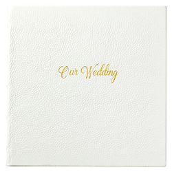 Leather Bound Wedding Journal