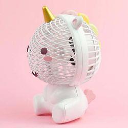 Elodie Unicorn USB Fan