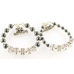Big Brother or Little Brother Boys ID Bracelet